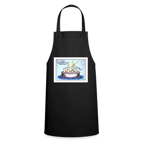 Geburtstagskerze - sie - Kochschürze