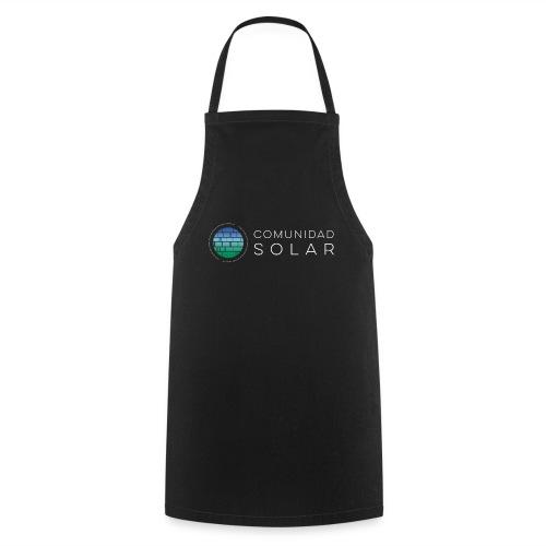 Comunidad Solar BASIC + Black - Delantal de cocina