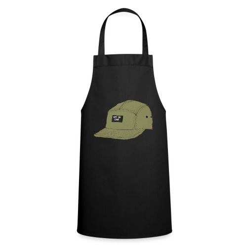 5 panel Get in line hoodie - Cooking Apron