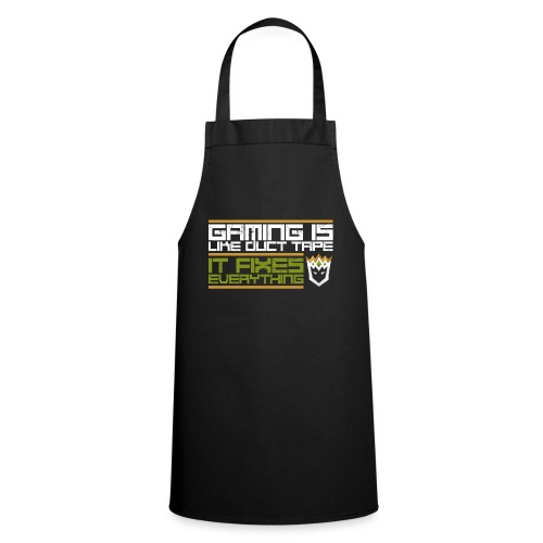 Gaming is like duct tape - Cooking Apron