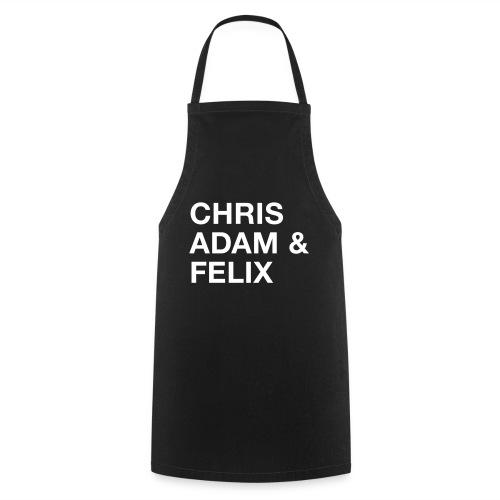 Chris, Adam & Felix - Kochschürze