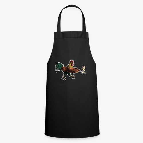 Cockerel Egg and Spoon d - Cooking Apron