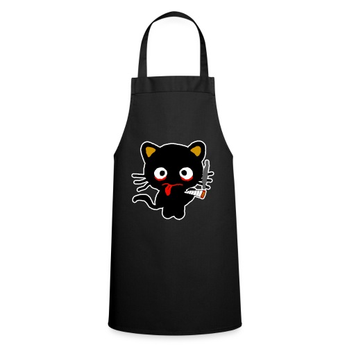Pothead Cat Cannabis Smoking Weed, legalize it - Cooking Apron