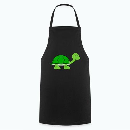 Totte Turtle - Appelsin - Förkläde