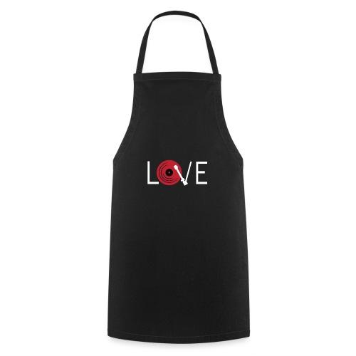 Love vynil - Grembiule da cucina