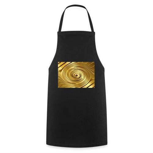spirale d'oro - Grembiule da cucina