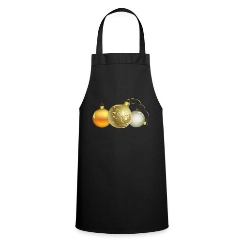 Christmas Ball Decor - Delantal de cocina