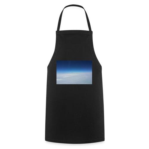 blauer Himmel, weiße Wolken - Flug über Australien - Kochschürze