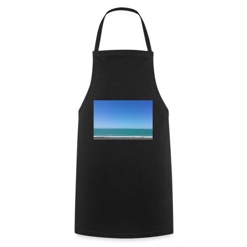 Napier Neuseeland - blauer Himmel, Meer türkis - Kochschürze