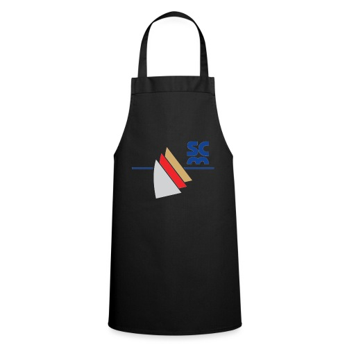 Modernes SCM Logo - Kochschürze