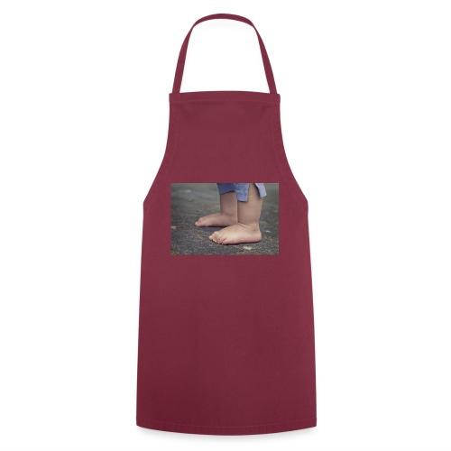 Baby Füße - Kochschürze