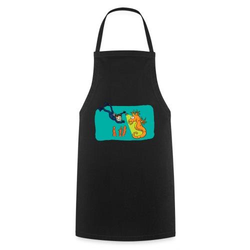 Rencontre sous-marine - Tablier de cuisine