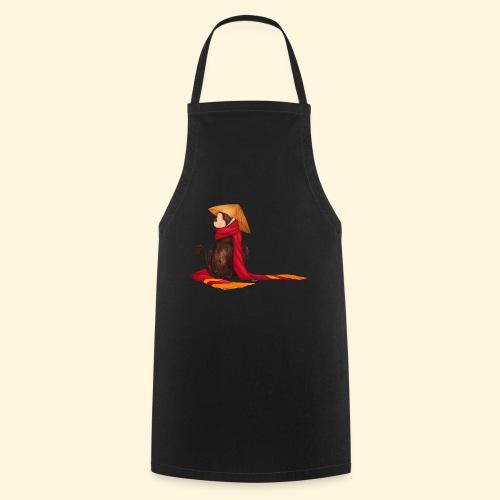 Un singe en hiver - Tablier de cuisine