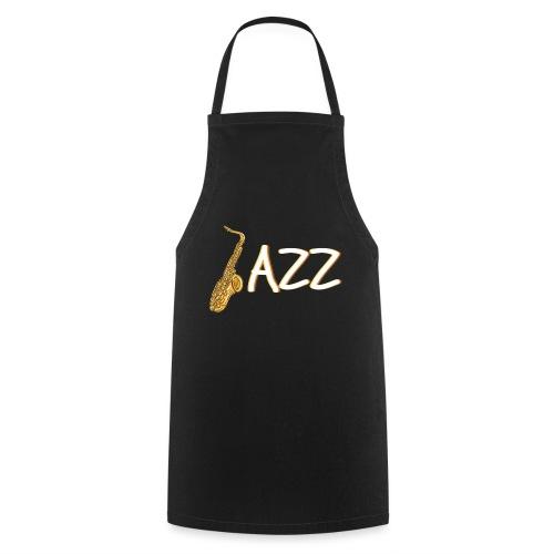 JAZZ Saxophon Saxofonist Shirt Geschenk - Kochschürze