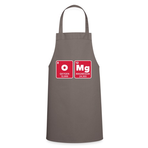 periodic table omg oxygen magnesium Oh mein Gott - Cooking Apron
