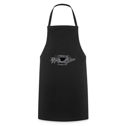 Dämon / Mensch - Schwarz - Kochschürze