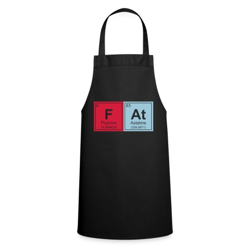 Geeky Fat Periodic Elements - Cooking Apron
