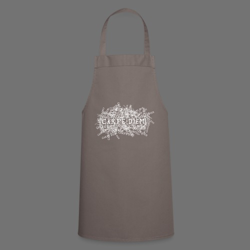 carpe diem (white) - Cooking Apron