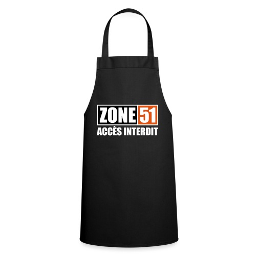 ZONE 51 - ACCES INTERDIT - Tablier de cuisine