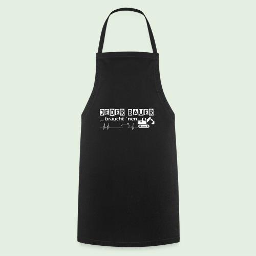 Jeder Bauer ... braucht 'nen Bagger - Kochschürze