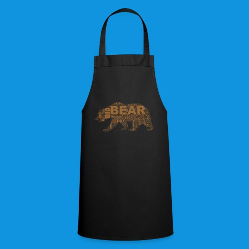 Bear Word Cloud - Cooking Apron