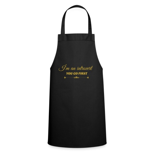 you go first metalic gold.png - Cooking Apron
