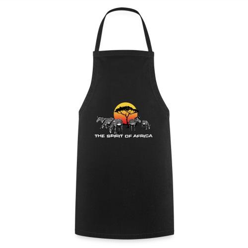 Spirit of Africa Zebra Afrika Sonne Savanne Safari - Cooking Apron
