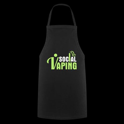 SOCIAL VAPING LOGO - Cooking Apron