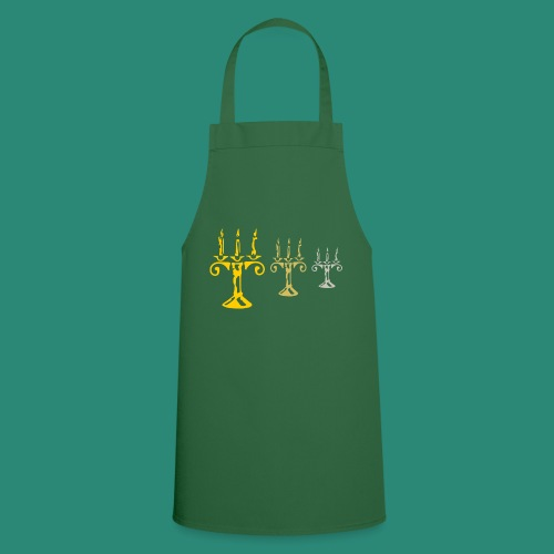 edles Kerzenlicht - Kochschürze