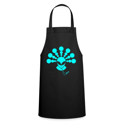 The Smoking Alien Light Blue - Cooking Apron
