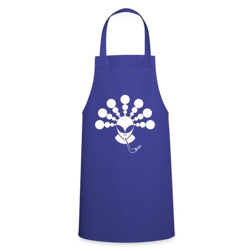 The Smoking Alien White - Cooking Apron
