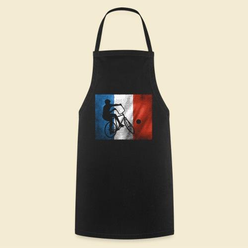 Radball | Flagge Frankreich - Kochschürze