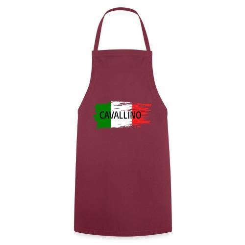 Cavallino auf Flagge - Kochschürze