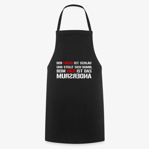 Fuchs und Nazi - Antifa - Kochschürze