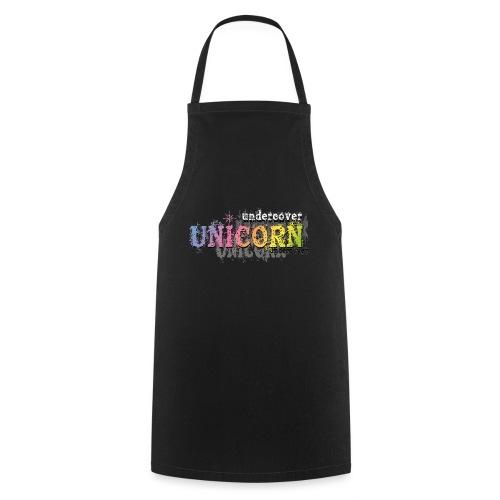 Undercover Unicorn - Tablier de cuisine
