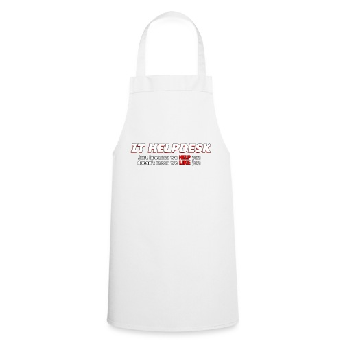 I.T. HelpDesk - Cooking Apron