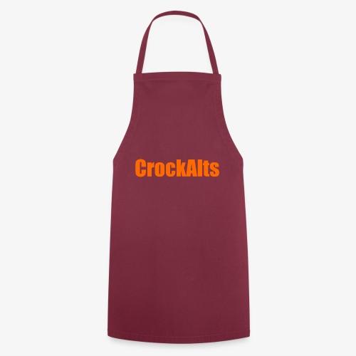 CrockAlts In Orange. - Cooking Apron