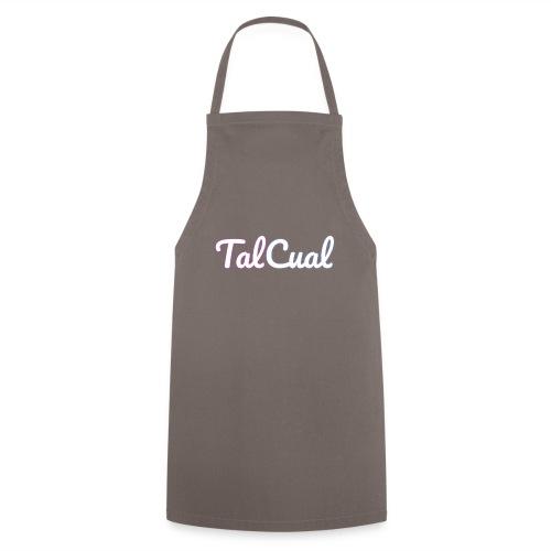 TalCual Logo Alternativo - Delantal de cocina