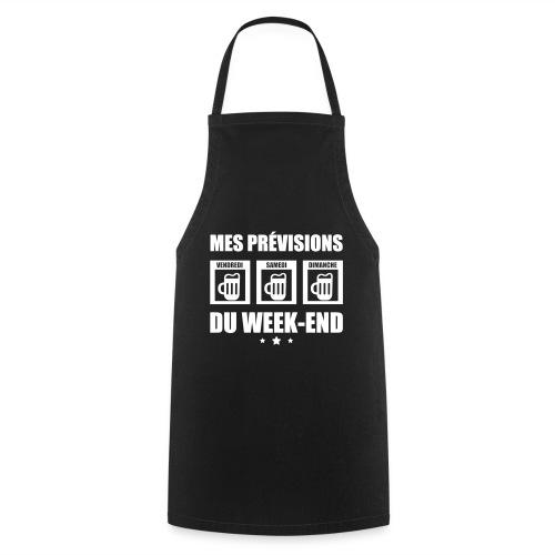 Mes prévisions du week end - Tablier de cuisine