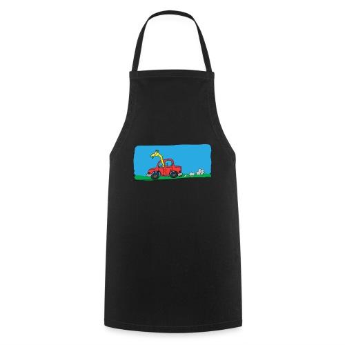 La girafe conductrice - Tablier de cuisine