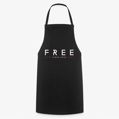 free typo white - Kochschürze