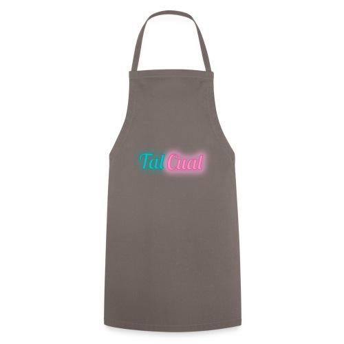 TalCual Logo Neón - Delantal de cocina