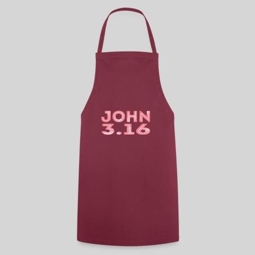 Johannes 3 Vers 16 Bibelversdesign - Kochschürze