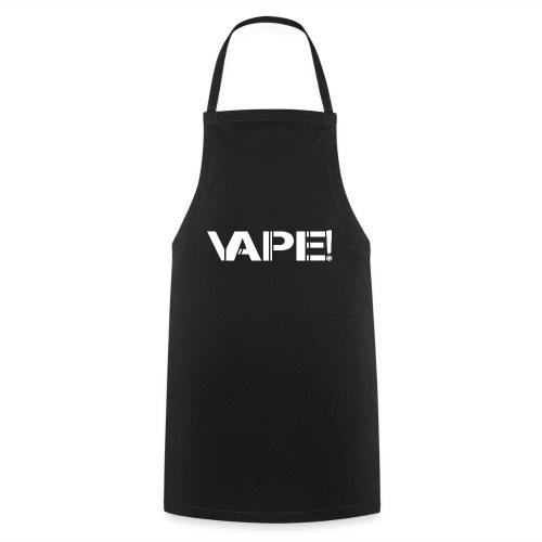 Vape! - Blanc - Tablier de cuisine