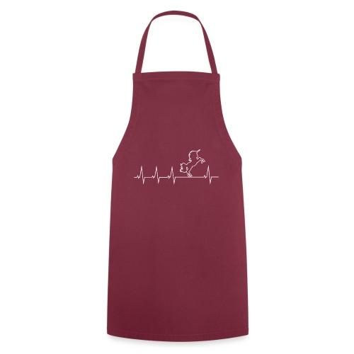 Ich liebe mein Einhorn - Heartbeat - Kochschürze