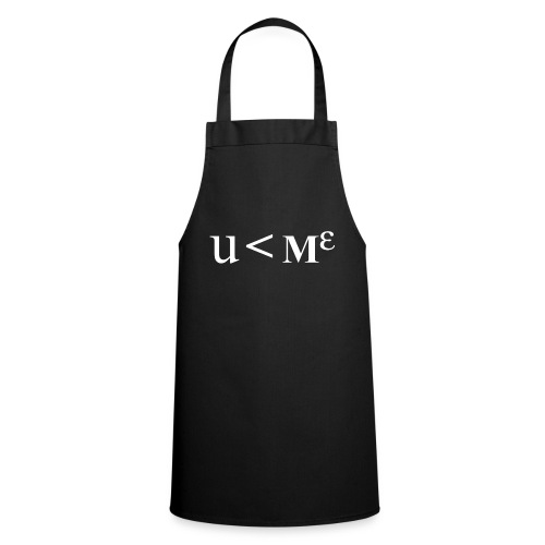 Less Than Me - Cooking Apron