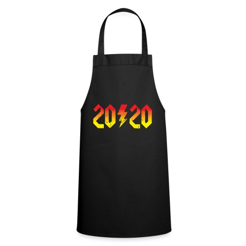 2020 rockiges Jahr - Kochschürze