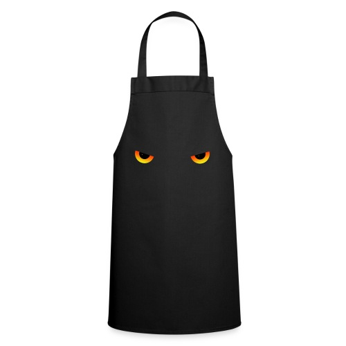 Augen feurig - Kochschürze