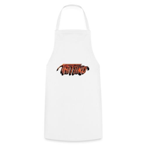Trittiko Logo Rot 3D - Kochschürze