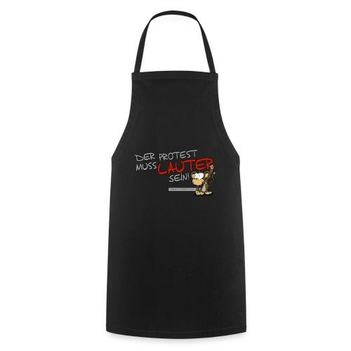 Protest-Äffchen1 - Kochschürze